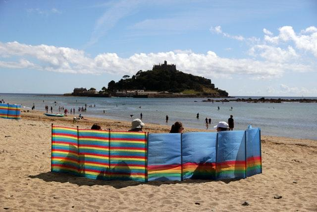 Places like Marazion and Saint Michael's Mount in Cornwall are proving popular with holidaymakers (David Davies/PA).