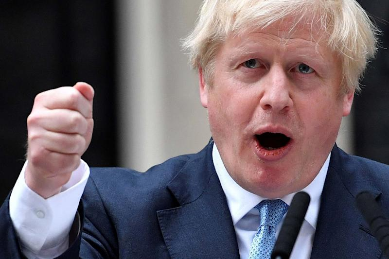 Boris Johnson said the UK will leave on October 31, 'no ifs no buts' (AFP/Getty Images)