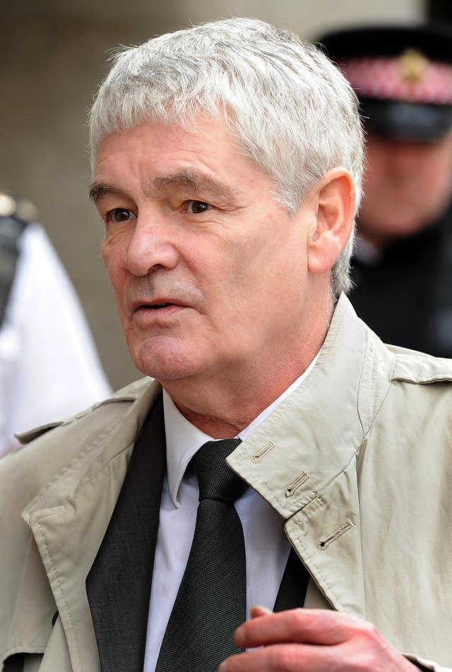 Alastair Morgan outside the Old Bailey in 2011