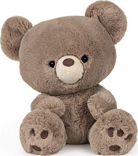 """<p><strong>GUND</strong></p><p>amazon.com</p><p><strong>$20.00</strong></p><p><a href=""""https://www.amazon.com/dp/B083FMGN27?tag=syn-yahoo-20&ascsubtag=%5Bartid%7C10055.g.5152%5Bsrc%7Cyahoo-us"""" rel=""""nofollow noopener"""" target=""""_blank"""" data-ylk=""""slk:Shop Now"""" class=""""link rapid-noclick-resp"""">Shop Now</a></p><p>The perfect first friend for your little one, there's something about Kai's extra-large head that makes him extra cute. He's also super soft and huggable. <em>Ages 1+</em></p>"""