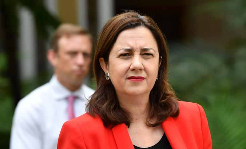 Queensland Premier Annastacia Palaszczuk warned the state it must adhere to coronavirus restrictions. Source: AAP