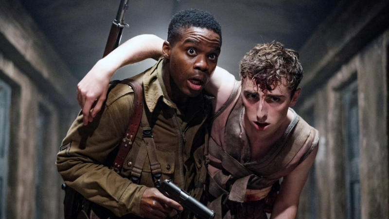 'Overlord' is a Second World War movie with added zombies. (Credit: Paramount)