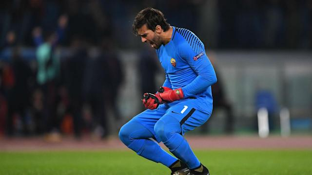 Alisson has consistently been linked with a move away from Roma, but Monchi says the club have received no bids for the goalkeeper.