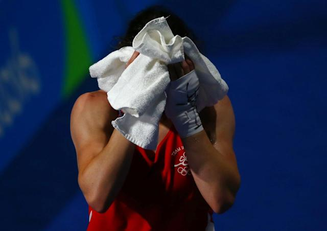 Katie Taylor leaves the Rio Games without a medal. (Reuters)
