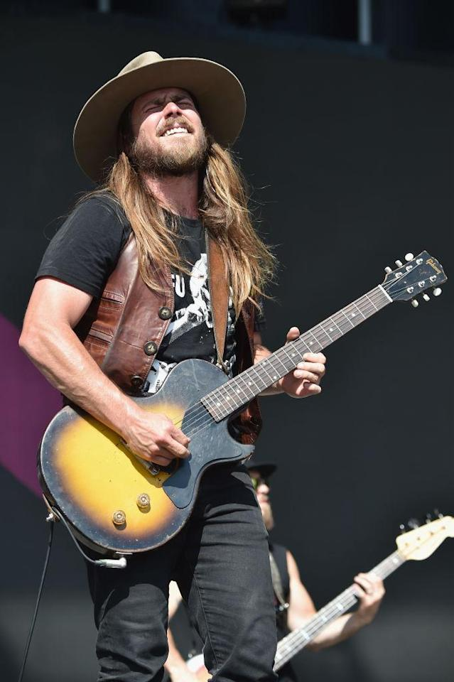<p>Lukas Nelson of Lukas Nelson & Promise of the Real during the 2018 Firefly Music Festival in Dover, Delaware. (Photo: Getty Images) </p>