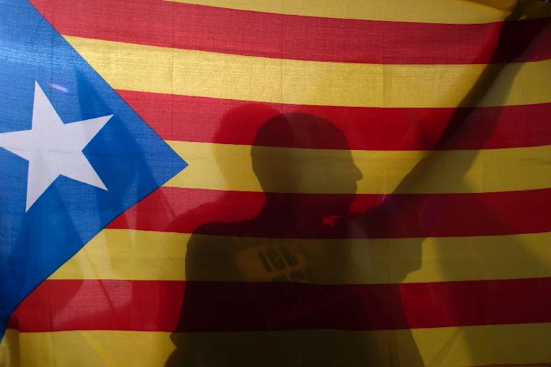 Catalan president Carles Puigdemont declared Sunday that Catalonia had won the right to break away from Spain after 90 percent of voters taking part in the referendum voted for independence, defying a sometimes violent police crackdown and fierce opposition from Madrid