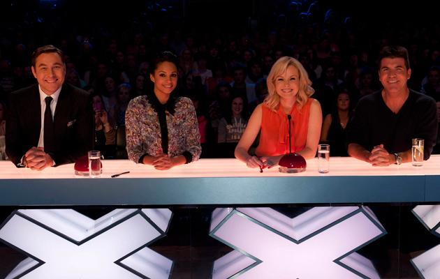 Britain's Got Talent photos: Ah, the prestigious judges' desk, we'd love to press that red buzzer.