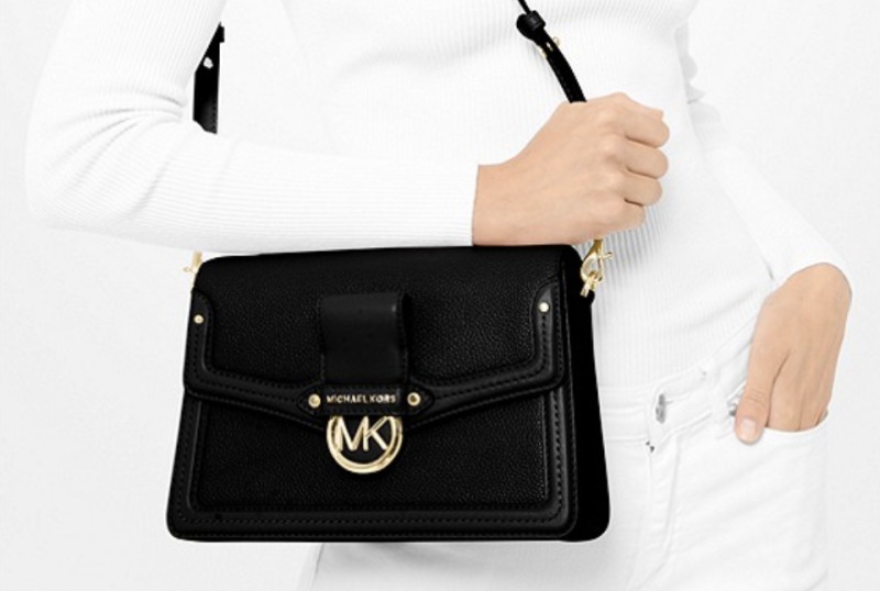 Jessie Medium Pebbled Leather Shoulder Bag. (PHOTO: Michael Kors)