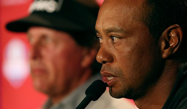 """<div class=""""caption""""> A key to making The Match viable was Tiger successful returning to the tour in 2018. </div> <cite class=""""credit"""">Rich Schultz</cite>"""