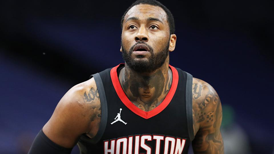 John Wall will reportedly not suit up for the Houston Rockets this season, as the team looks to trade the point guard's massive NBA contract. (Photo by Jordan Johnson/NBAE via Getty Images)
