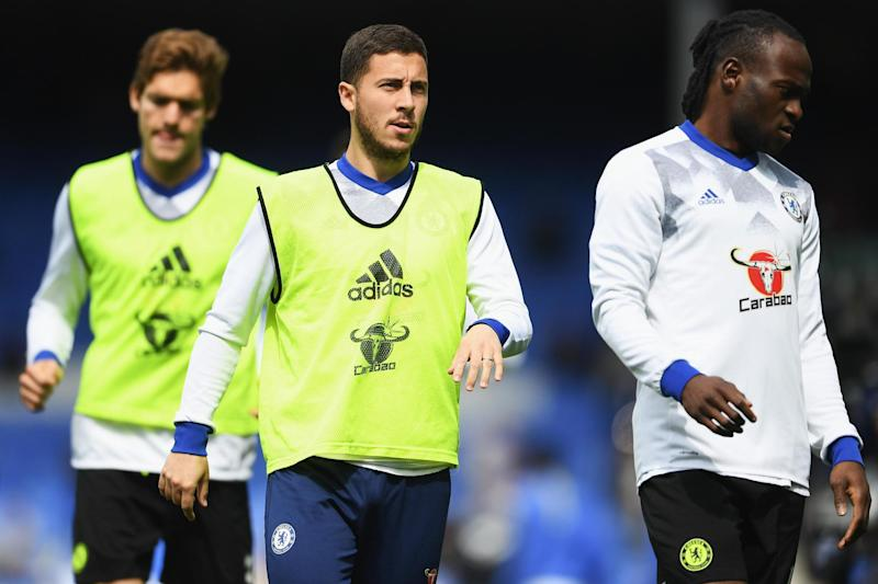 Sidelined | Hazard fractured his right ankle while during a training session with the Belgium team in May: Getty Images