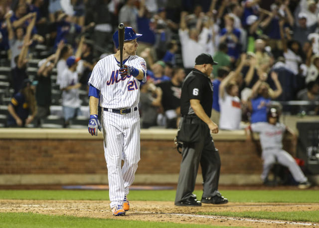 Todd Frazier's three-run home run in the ninth inning tied the game for the New York Mets. (USA TODAY Sports)