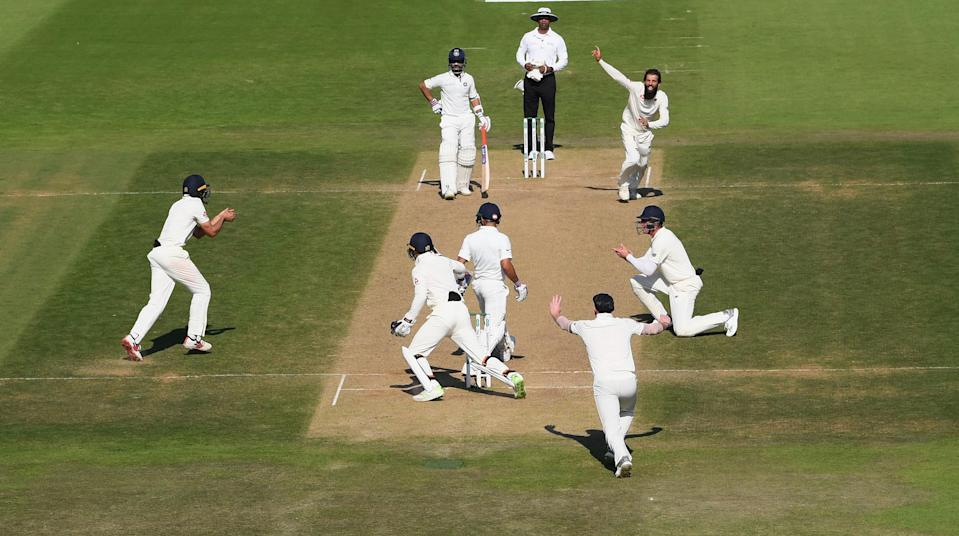 <p>The last time India chased down a target of over 100 runs outside Asia was way back in 2003-04 vs Australia at Adelaide. In this series, India failed to attain moderate targets set by England at Edgbaston and Southampton. </p>