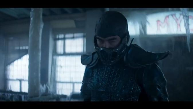 Joe Taslim sebagai Sub-Zero di Mortal Kombat. (Warner Bros. Pictures via YouTube HBO Max)