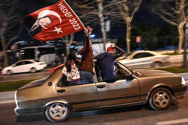 Erdogan fought hard before the vote, holding rallies across Turkey where he described the election of mayors and district councils as a battle for the nation's survival (AFP Photo/Ozan KOSE)