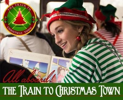 ride the train to christmas town this year cocoa cookies santa stories