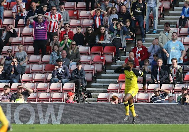 Sunderland relegated as Liam Boyce's injury-time winner gives Burton hope