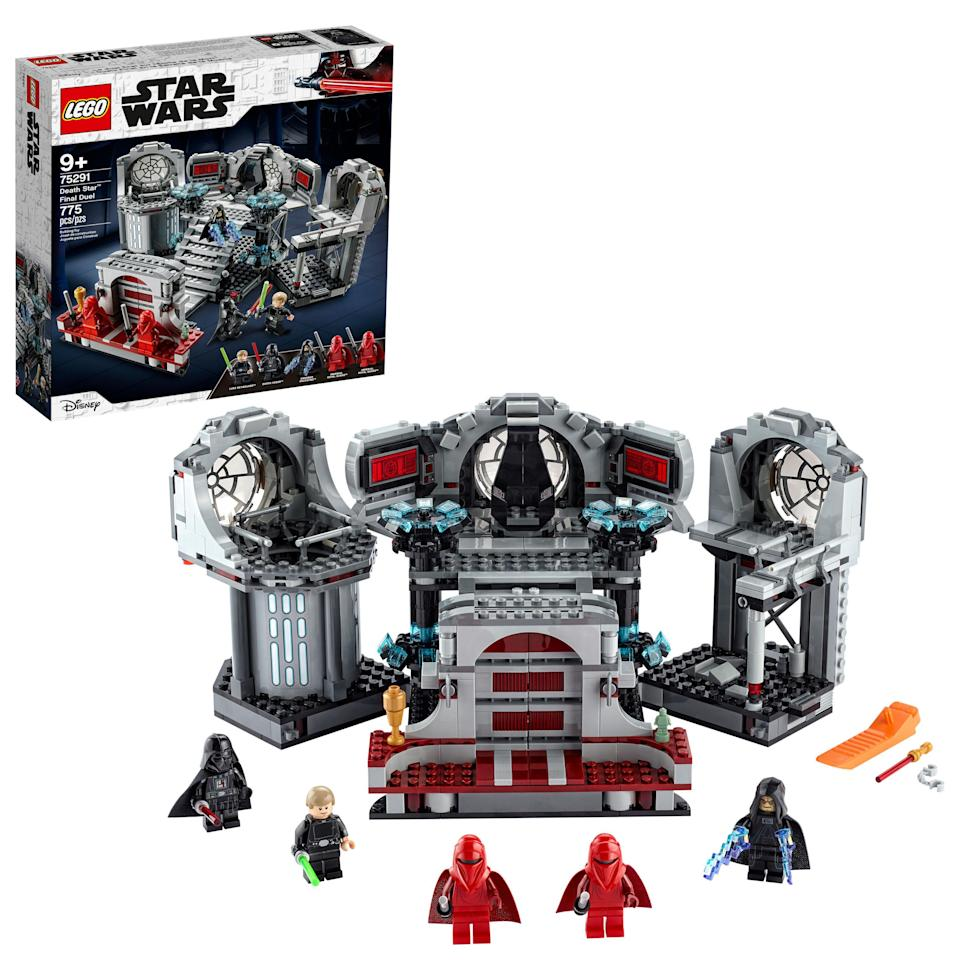"""<p><strong>LEGO</strong></p><p>walmart.com</p><p><strong>$89.00</strong></p><p><a href=""""https://go.redirectingat.com?id=74968X1596630&url=https%3A%2F%2Fwww.walmart.com%2Fip%2F815968276&sref=https%3A%2F%2Fwww.bestproducts.com%2Fparenting%2Fg34074265%2Fwalmart-top-toys-of-2020%2F"""" rel=""""nofollow noopener"""" target=""""_blank"""" data-ylk=""""slk:Shop Now"""" class=""""link rapid-noclick-resp"""">Shop Now</a></p><p>Your kid has probably always wanted to know what it would be like to live in the <em>Star Wars</em> universe. While that's not exactly possible, this LEGO Star Wars set will help them build their very own piece of the series. </p>"""