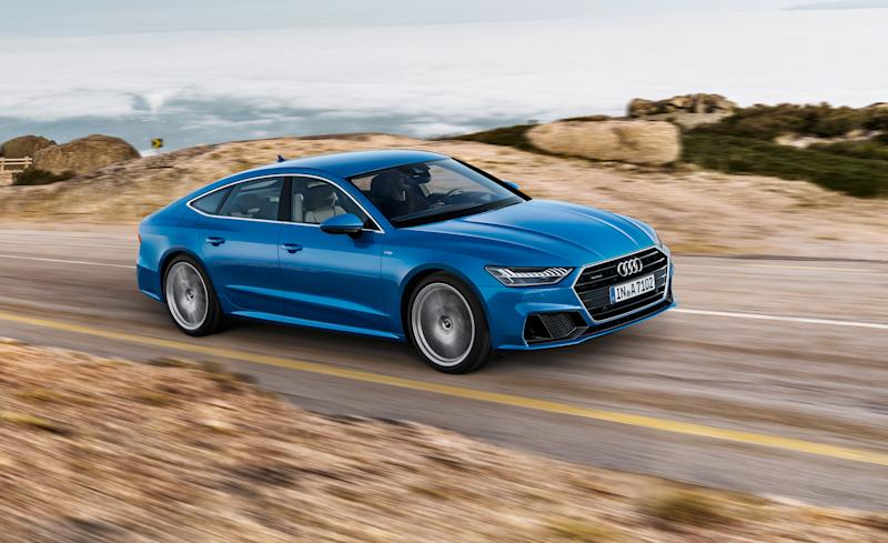 Audi A Similarly Slinky Looks Lots Of New Technology - 2 door audi a7