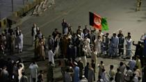 Afghans chant 'Allah-u Akbar' in support of security forces in Jalalabad
