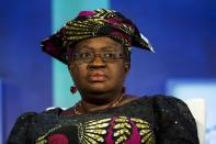 FILE PHOTO: Ngozi Okonjo-Iweala, former finance minister of Nigeria, takes part in a panel during the Clinton Global Initiative's annual meeting in New York