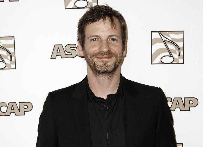 """FILE - Songwriter Lukasz """"Dr. Luke"""" Gottwald arrives at the 28th Annual ASCAP Pop Music Awards in Los Angeles, on April 27, 2011. The controversial music producer and hitmaker rose to the top of the Billboard charts with Doja Cat's ubiquitous funk-pop jam """"Say So,"""" along with Saweetie's anthemic bop """"Tap In"""" and Juice WRLD's Top 5 pop smash """"Wishing Well."""" Dr. Luke appeared as Tyson Trax on the Grammy ballot for Doja Cat's """"Say So,"""" which he produced and co-wrote. The hit tune is competing for record of the year, where Dr. Luke is contention as the song's producer. (AP Photo/Matt Sayles, File)"""