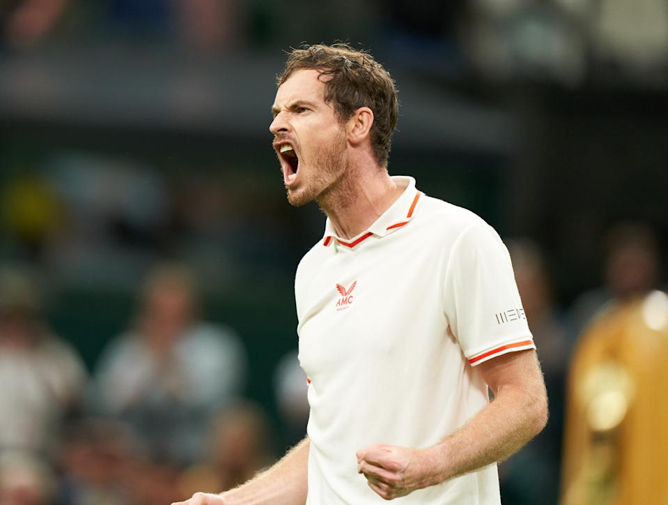 Battling Murray, 34, sent SW19's hearts soaring by making a winning return to his home Grand Slam on Monday