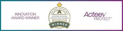 Ascend's Acteev Protect antimicrobial technology won Outdoor Retailer's 2021 Innovation Award for function.