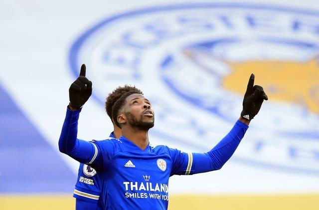 Former Manchester City striker Kelechi Iheanacho has been in fine form for Leicester