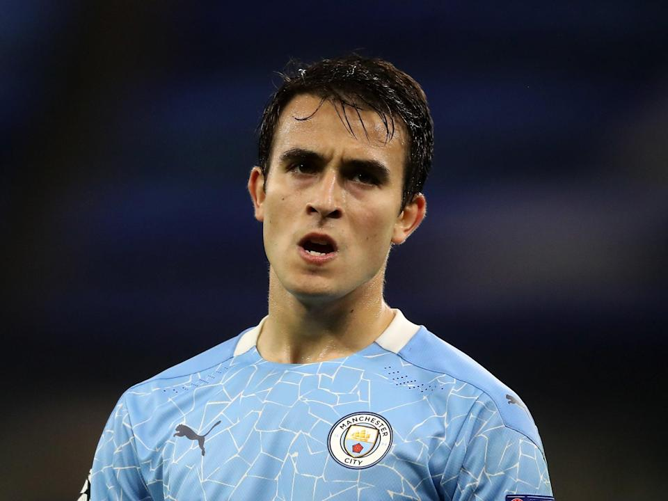 Eric Garcia has entered his final year of his current deal at the Etihad (Getty)