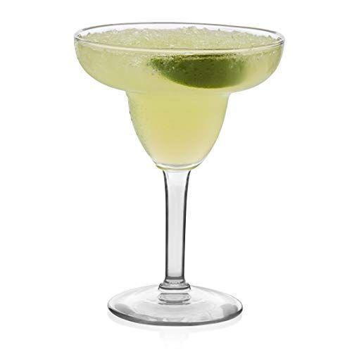 """<p><strong>Libbey</strong></p><p>amazon.com</p><p><strong>$28.79</strong></p><p><a href=""""https://www.amazon.com/dp/B01ESOCN4Y?tag=syn-yahoo-20&ascsubtag=%5Bartid%7C1782.g.35916453%5Bsrc%7Cyahoo-us"""" rel=""""nofollow noopener"""" target=""""_blank"""" data-ylk=""""slk:BUY NOW"""" class=""""link rapid-noclick-resp"""">BUY NOW</a></p><p>If you're looking for a standard, classic margarita glass, this is your move. Plus you'll get a set of 12, which is perfect for summer barbecues.</p>"""
