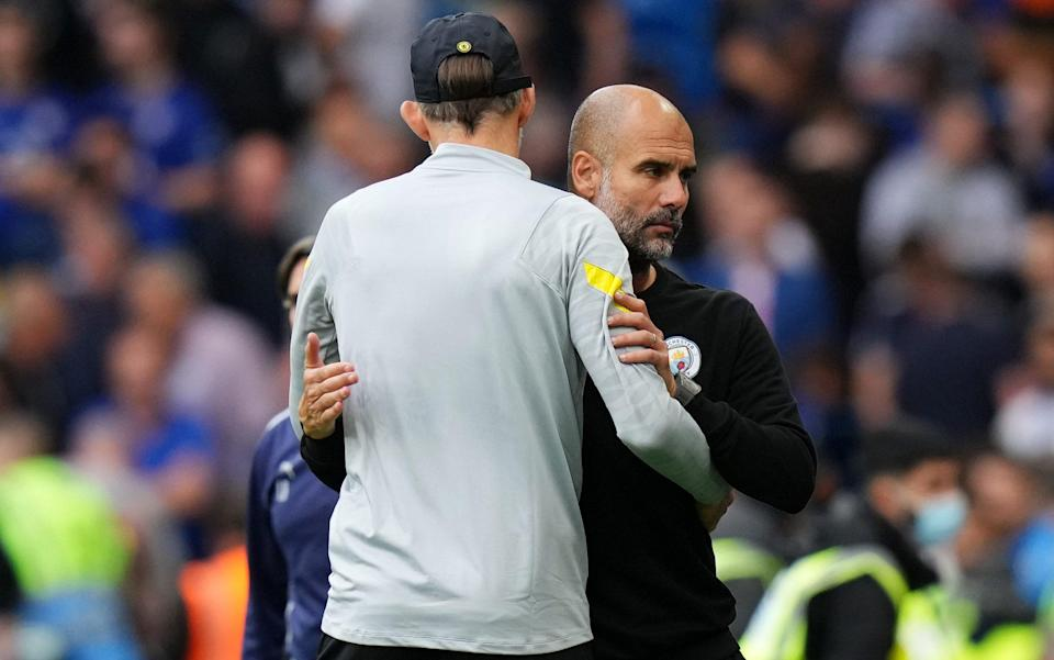 Thomas Tuchel pays price for cautious early approach as Pep Guardiola bosses battle of tactical masterminds - GETTY IMAGES