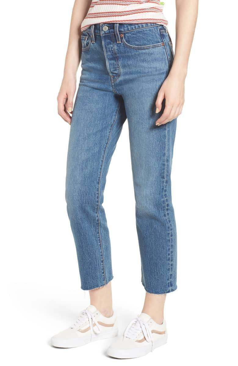 <p>These are what we think of when we think of Levi's, and the ones we can't wait to wear all weekend long. We love these <span>Levi's Wedgie Straight Leg Jeans</span> ($79, originally $98).</p>