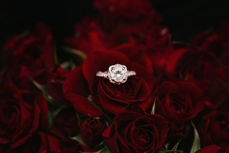 Less than a third of Brits believe they should spend three months' salary on an engagement ring. Photo: Esther Tuttle/Unsplash