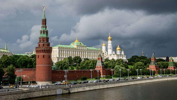 PHOTO: This file photo taken on July 09, 2018 shows the Kremlin in Moscow. (Mladen Antonov/AFP/Getty Images, File)