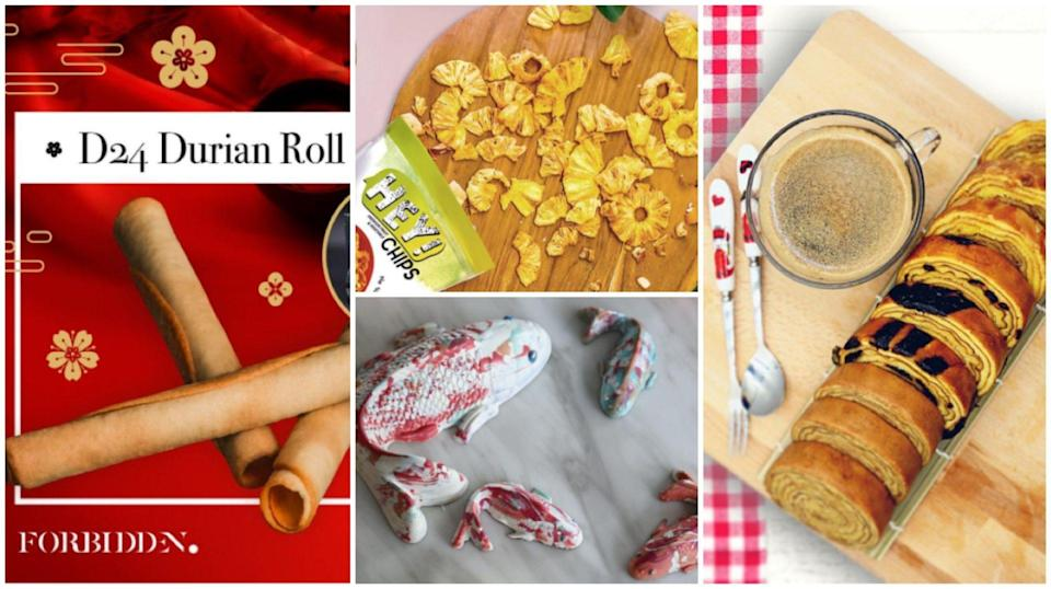 From durian love letters to pineapple chips, this year's CNY goodies utterly ox-cite our tastebuds!
