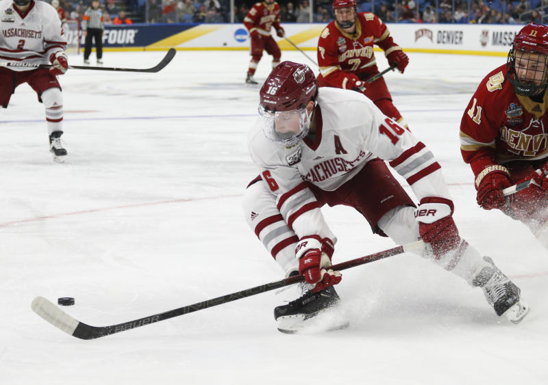 Former UMass Star Cale Makar Scores Playoff Goal In Avalanche Debut