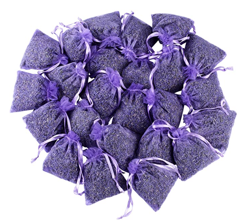"""<p><strong>Lavender Sachets USA</strong></p><p>amazon.com</p><p><strong>$4.95</strong></p><p><a href=""""https://www.amazon.com/dp/B07MFR8MDJ?tag=syn-yahoo-20&ascsubtag=%5Bartid%7C2089.g.27269473%5Bsrc%7Cyahoo-us"""" rel=""""nofollow noopener"""" target=""""_blank"""" data-ylk=""""slk:Shop Now"""" class=""""link rapid-noclick-resp"""">Shop Now</a></p><p>These lavender-scented sachets are one of our favorite cheap sleep products on Amazon. Easily hide a packet under your pillow and doze off into a dream, or stow them in your pajama drawer for a scented nighttime wardrobe!</p>"""