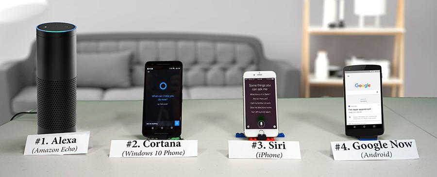 Windows Cortana, iPhone Siri, Amazon Echo, Google Now listening in on you without your knowledge