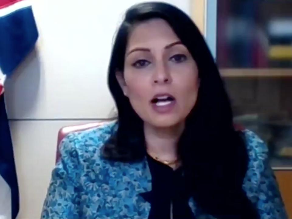 Priti Patel defends Boris Johnson's cycling trip on ITV's This Morning (This Morning / ITV)