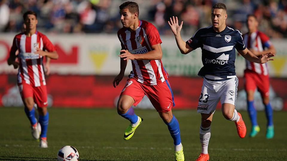 Melbourne Victory v Atletico de Madrid   Darrian Traynor/Getty Images