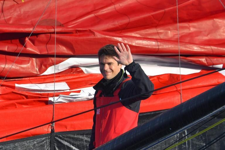 French skipper Sebastien Simon is on his way to Cape Town to reture from the Vendee Globe