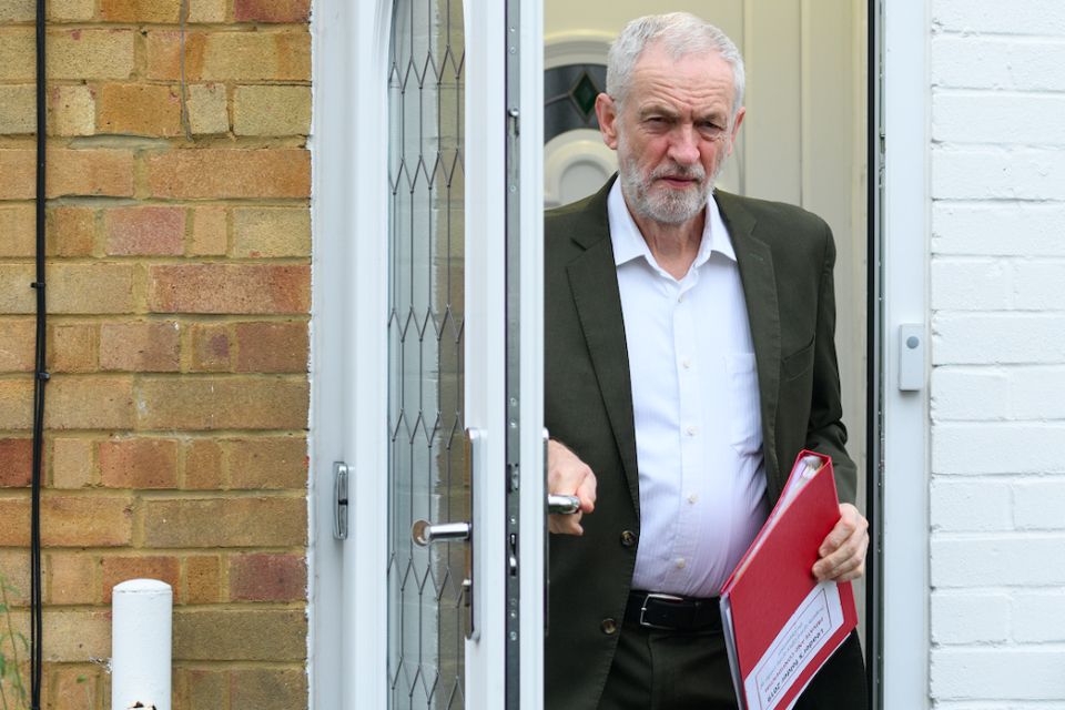 <em>Jeremy Corbyn is under fire after pulling out of a meeting between Mrs May and opposition party leaders because members of the Independent Group turned up (Getty)</em>