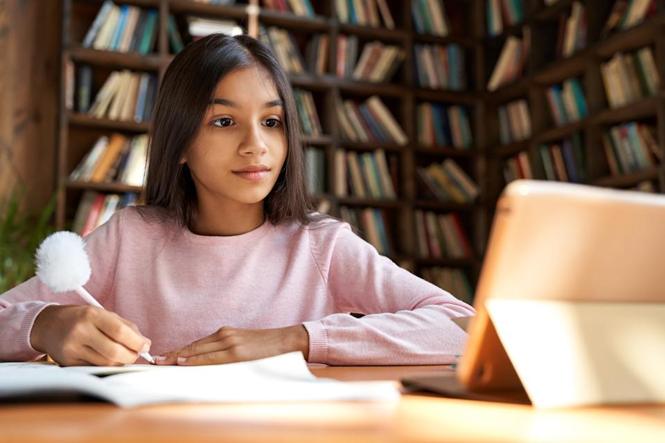 A slow device can seriously slow down the homework process. (Photo: Getty)