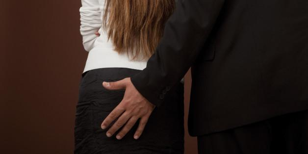 Groped At A Business Meeting