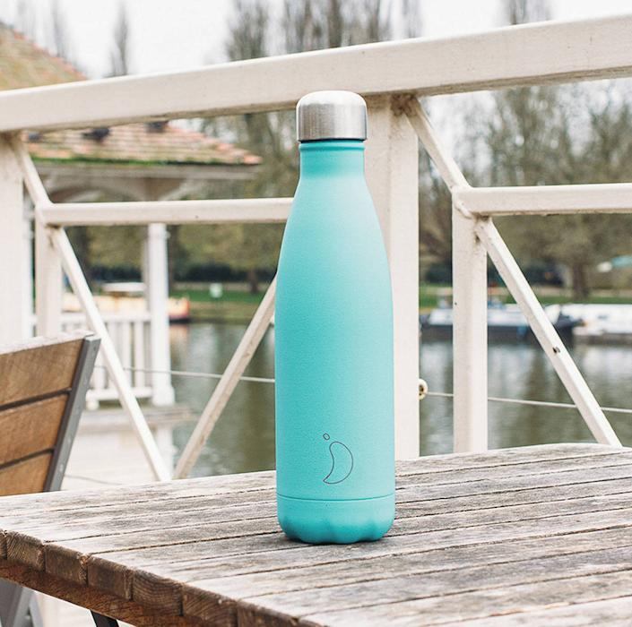 Reusable water bottles are growing in popularity. [Photo: John Lewis]