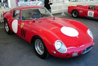 <p>No surprise here: the Ferrari 250 GTO takes the crown. A stunning shape and incredible 3.0-liter V-12 makes this the definitive exotic. And it couldn't be more gorgeous.</p>