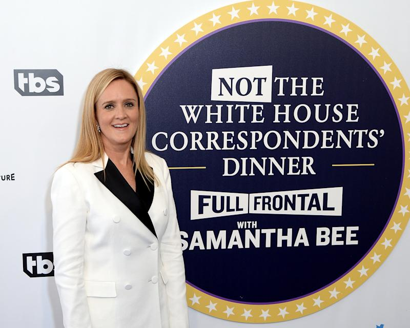 Samantha Bee's Not the White House Correspondents' Dinner Red Carpet Was Lit