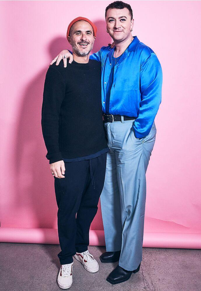 Zane Lowe and Sam Smith