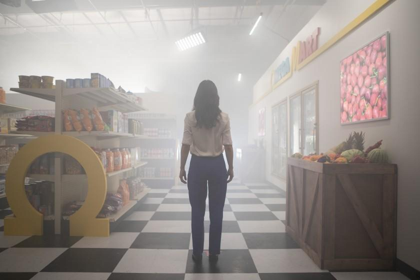 "Inside the Meow Wolf Las Vegas experience, Omega Mart is a grocery store experience that can transport you to other realms. <span class=""copyright"">(Meow Wolf)</span>"
